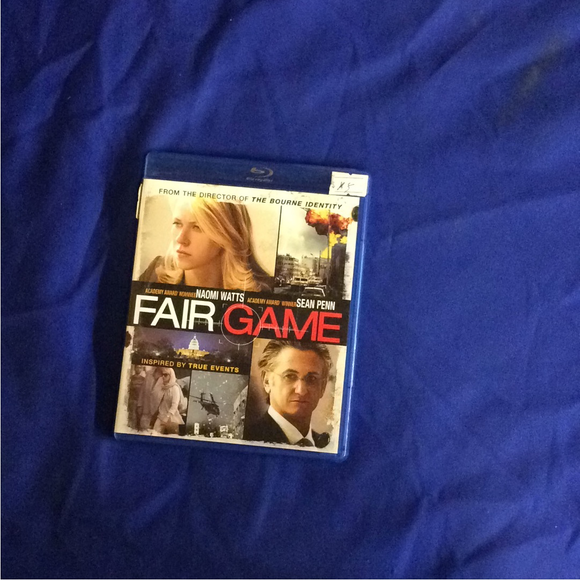 Fair Game - Blu-ray Action/Adventure 2010 PG-13 | Disc Plus
