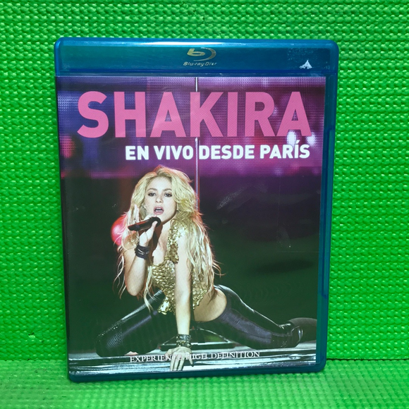 Shakira: En Vivo Desde Paris - Blu-ray Music UNK NR | Disc Plus