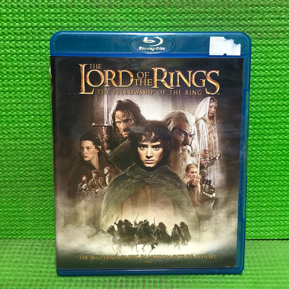 Lord Of The Rings: The Fellowship Of The Ring - Blu-ray Fantasy 2001 PG-13 | Disc Plus