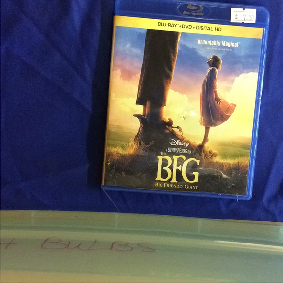 BFG - Blu-ray Family 2016 PG | Disc Plus