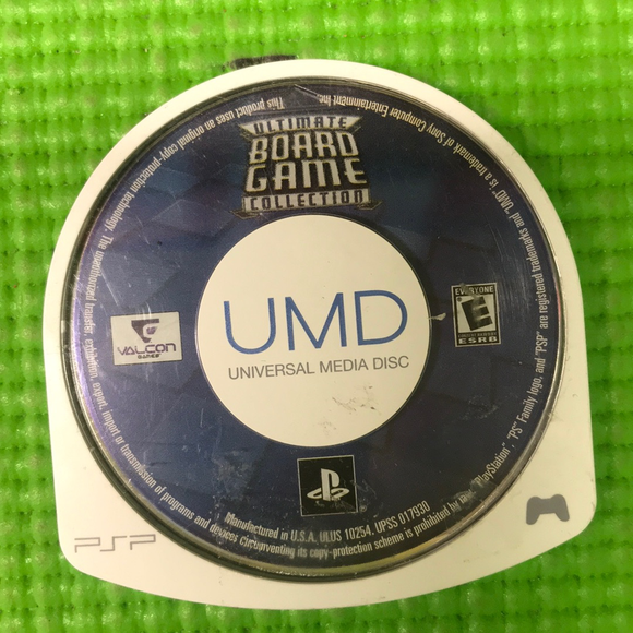Ultimate Board Game Collection - Sony PSP | Disc Only