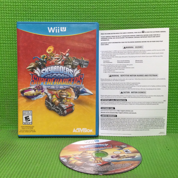 Skylanders: Superchargers (Game Only) - Nintendo Wii U | Disc Plus