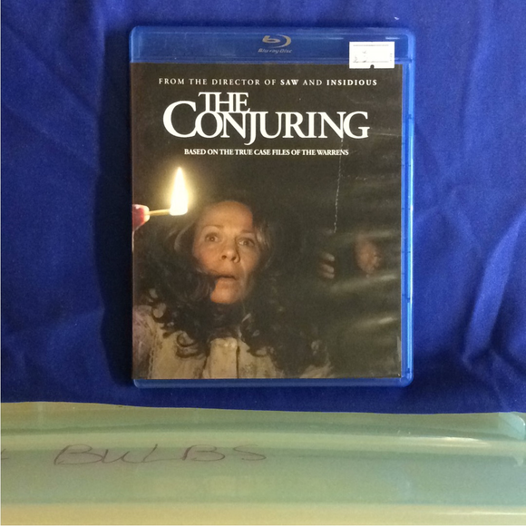 Conjuring - Blu-ray Horror 2013 R | Disc Plus