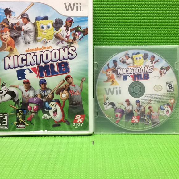 Nicktoons MLB - Nintendo Wii | Disc Plus