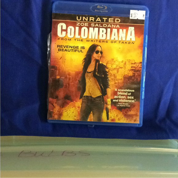 Colombiana - Blu-ray Action/Adventure 2011 PG-13 | Disc Plus