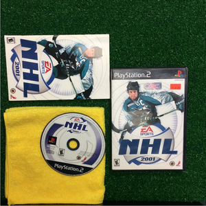 NHL 2001 - Sony PS2 Playstation 2 | Disc Plus