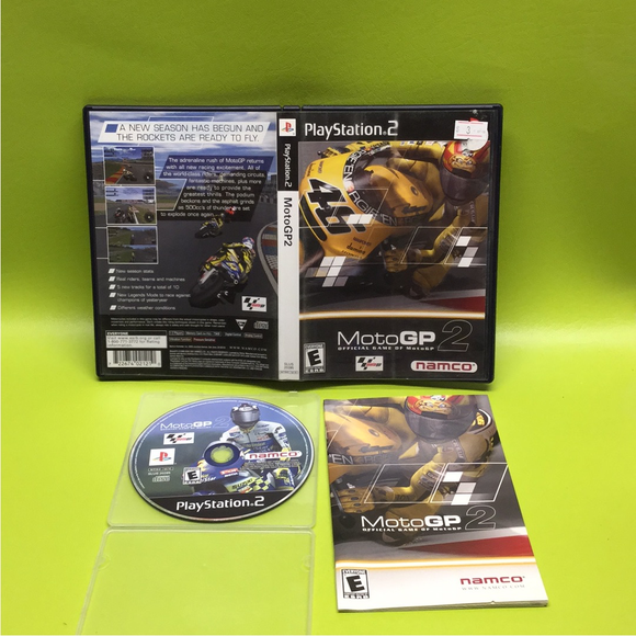 Moto GP 2 - Sony PS2 Playstation 2 | Disc Plus