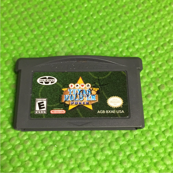 Texas HoldEm Poker - Nintendo GBA Gameboy Advance | Cartridge Only