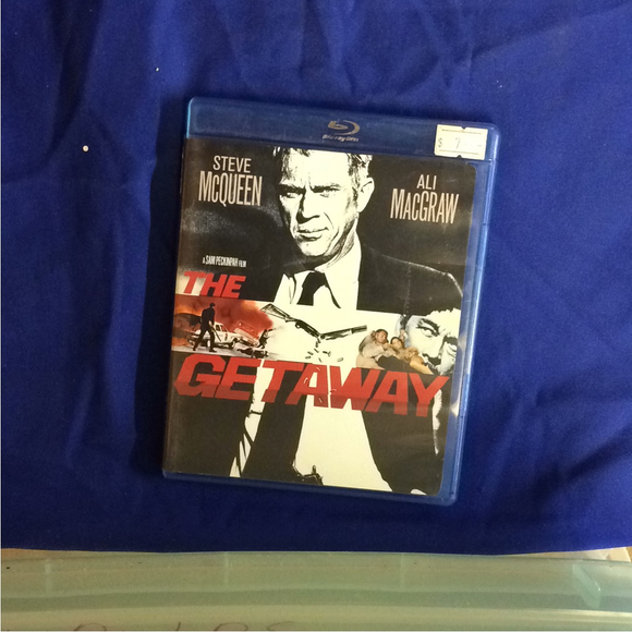 Getaway - Blu-ray Thriller 1972 PG | Disc Plus