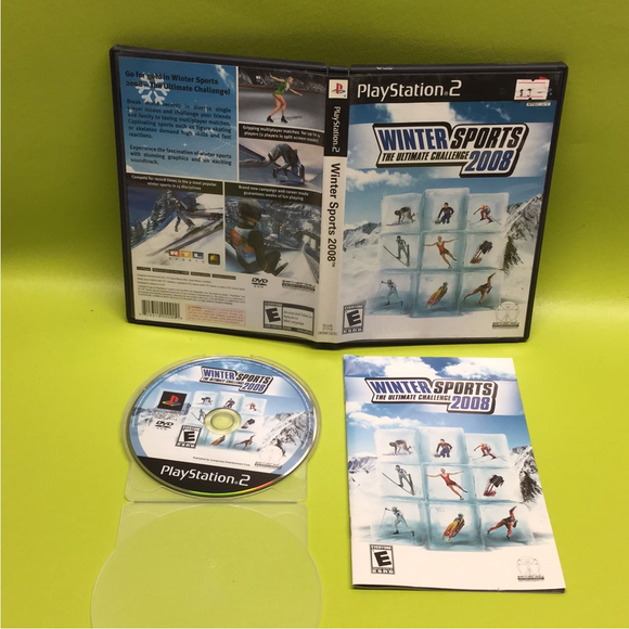 Winter Sports: The Ultimate Challenge 2008 - Sony PS2 Playstation 2 | Disc Plus