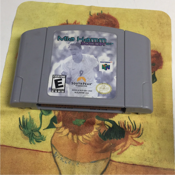 Mia Hamm Soccer 64 - Nintendo N64 | Cartridge Only