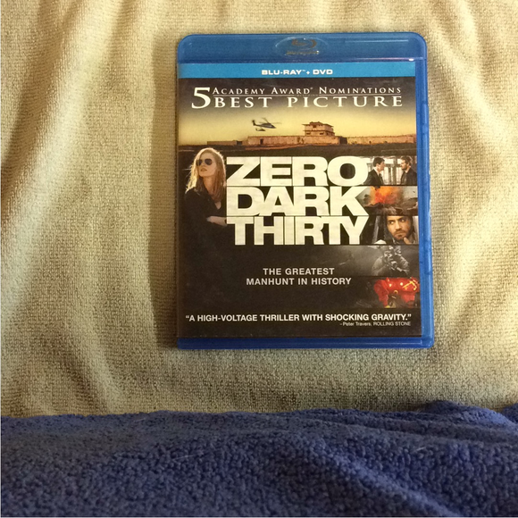 Zero Dark Thirty - Blu-ray Drama 2012 R | Disc Plus