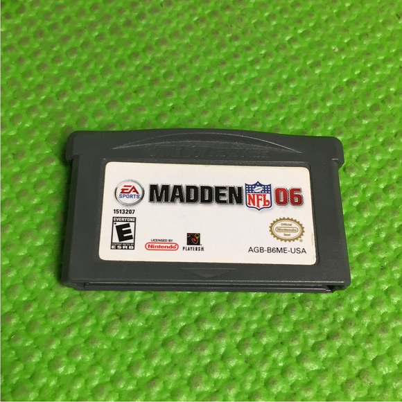 Madden 2006 - Nintendo GBA Gameboy Advance | Cartridge Only