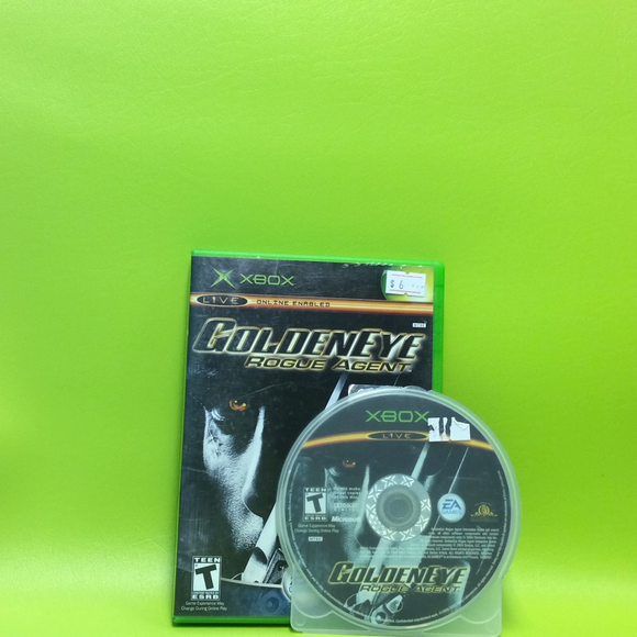 007 Goldeneye Rogue Agent - Microsoft Xbox | Disc Plus
