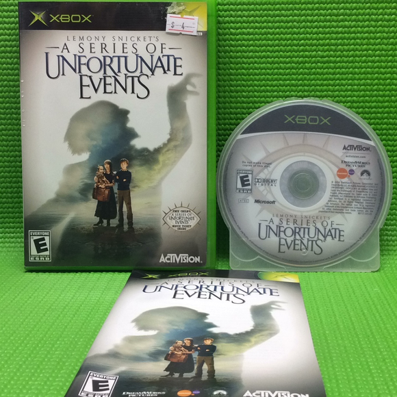 Lemony Snicket's: A Series of Unfortunate Events - Microsoft Xbox | Disc Plus