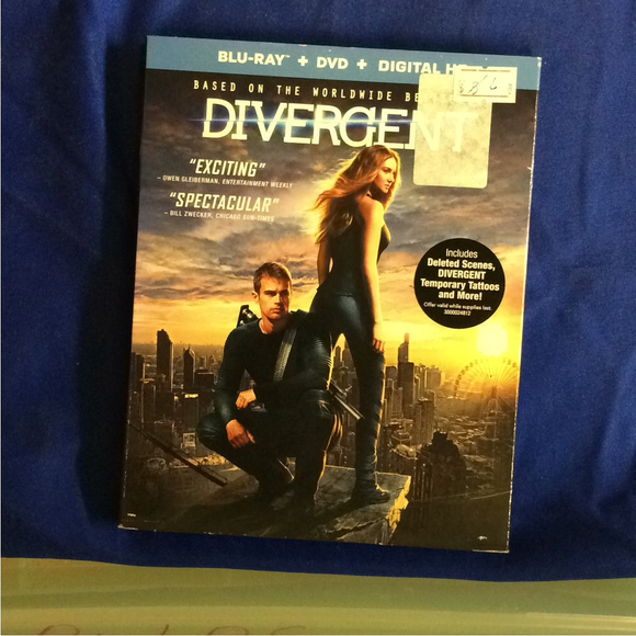 Divergent - Blu-ray SciFi 2014 PG-13 | Disc Plus