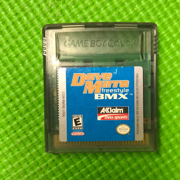 Dave Mirra Freestyle BMX - Nintendo Gameboy Color | Cartridge Only