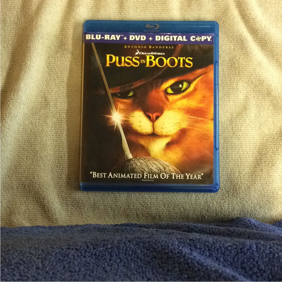 Puss in Boots - Blu-ray Animation 2011 PG | Disc Plus