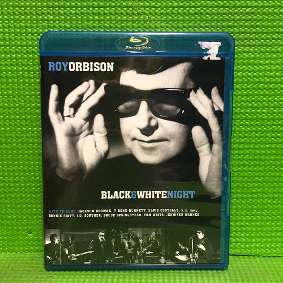 Roy Orbison: Black & White Night - Blu-ray Music 1988 NR | Disc Plus