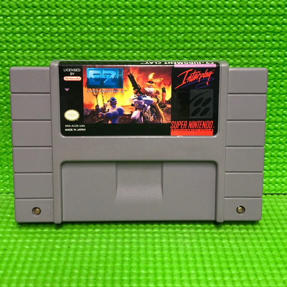 ClayFighter 2 (C2): Judgement Clay - Nintendo SNES Super | Cartridge Only