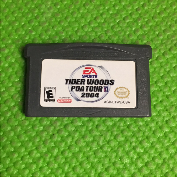 Tiger Woods: Pga Tour 2004 - Nintendo GBA Gameboy Advance | Cartridge Only
