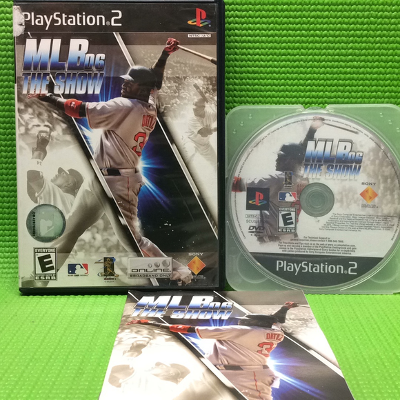 MLB 06: The Show - Sony PS2 Playstation 2 | Disc Plus