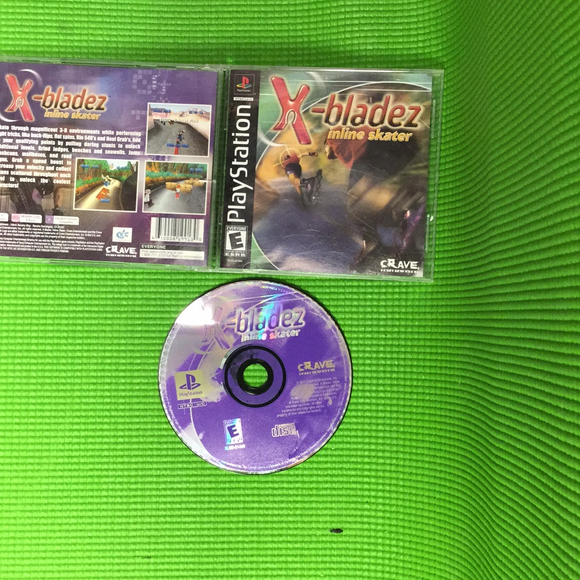 X-Bladez: In Line Skating - Sony PS1 Playstation 1 | Disc Plus