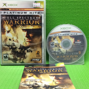 Full Spectrum Warrior - Platinum Hits - Microsoft Xbox | Disc Plus