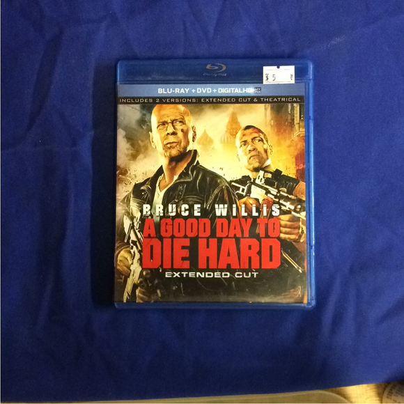 Good Day To Die Hard - Blu-ray Action/Adventure 2013 R | Disc Plus