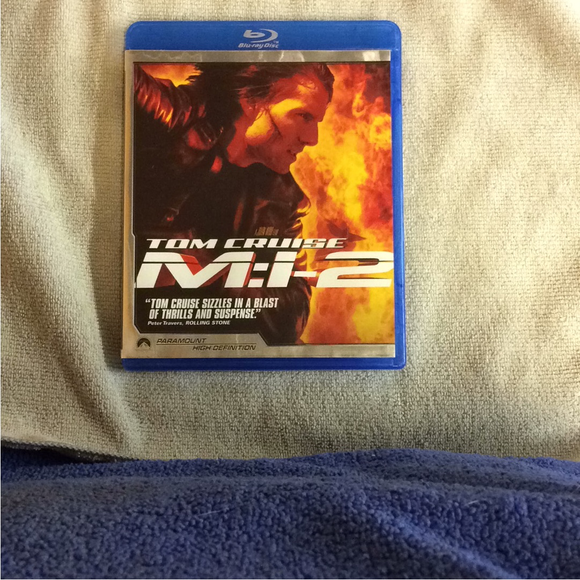 Mission: Impossible II - Blu-ray Action/Adventure 2000 PG-13 | Disc Plus