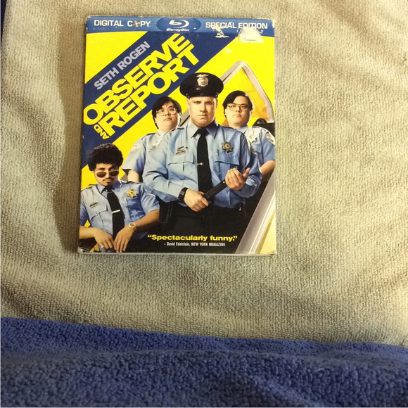Observe And Report - Blu-ray Comedy 2009 R | Disc Plus