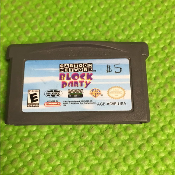 Cartoon Network: Block Party - Nintendo GBA Gameboy Advance | Cartridge Only