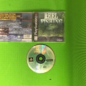 Reel Fishing - Sony PS1 Playstation 1 | Disc Plus