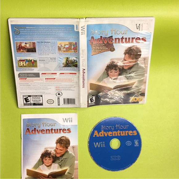 Story Hour: Adventures - Nintendo Wii | Disc Plus