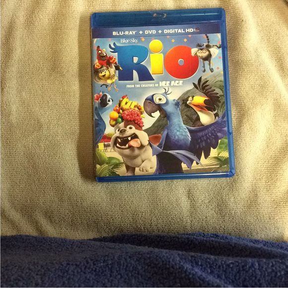 Rio - Blu-ray Animation 2011 G | Disc Plus