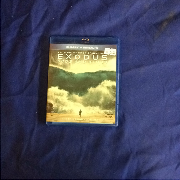 Exodus: Gods And Kings - Blu-ray Action/Adventure 2014 PG-13 | Disc Plus