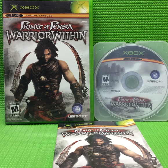 Prince of Persia: Warrior Within - Microsoft Xbox | Disc Plus
