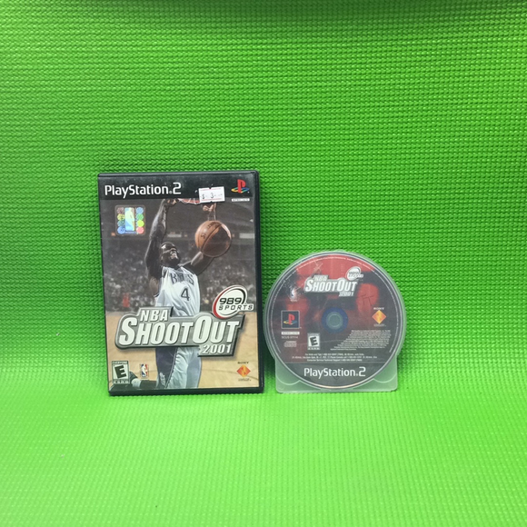 NBA ShootOut 2001 - Sony PS2 Playstation 2 | Disc Plus