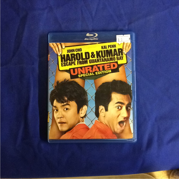 Harold & Kumar Escape From Guantanamo Bay - Blu-ray Comedy 2008 UR | Disc Plus