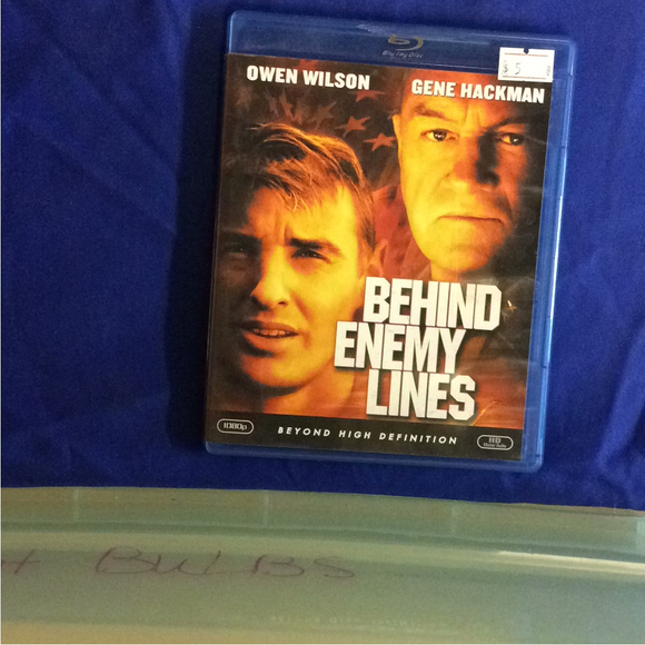 Behind Enemy Lines - Blu-ray War 2001 PG-13 | Disc Plus