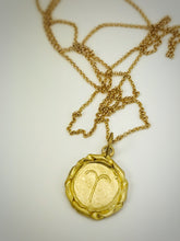 Load image into Gallery viewer, Aries zodiac necklace