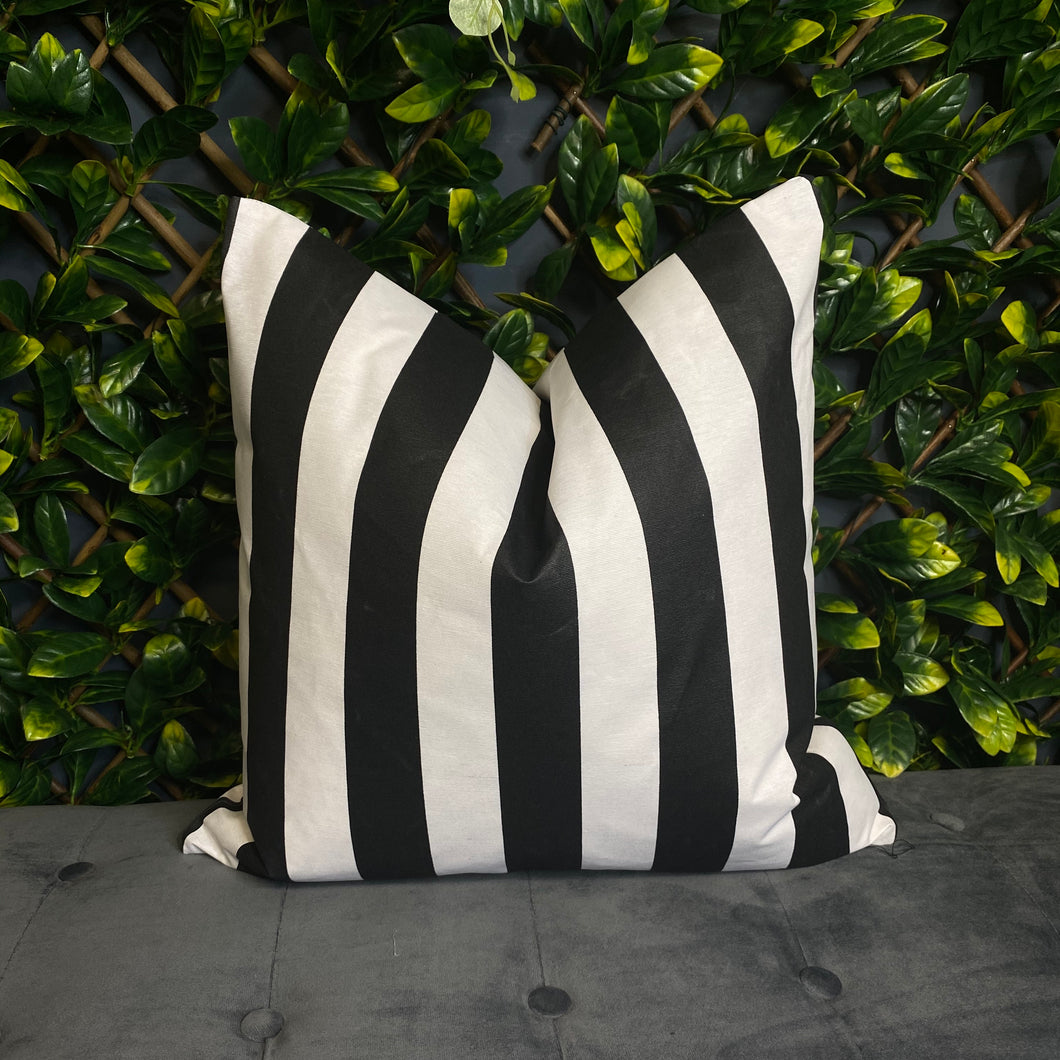 Mono Stripe Outdoor Cushion