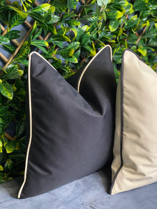 Contrasting Outdoor Cushions