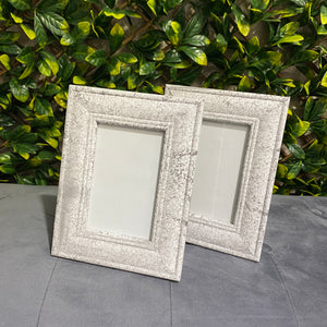 Marble effect photo frame