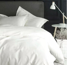 Load image into Gallery viewer, Luxurious 800 TC Cotton White Bedding