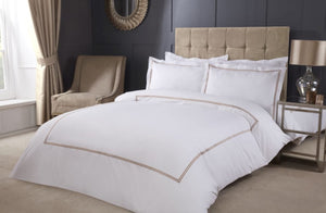 Neutral Embroidered Bedding
