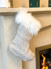 Load image into Gallery viewer, Neutral Knitted Stocking