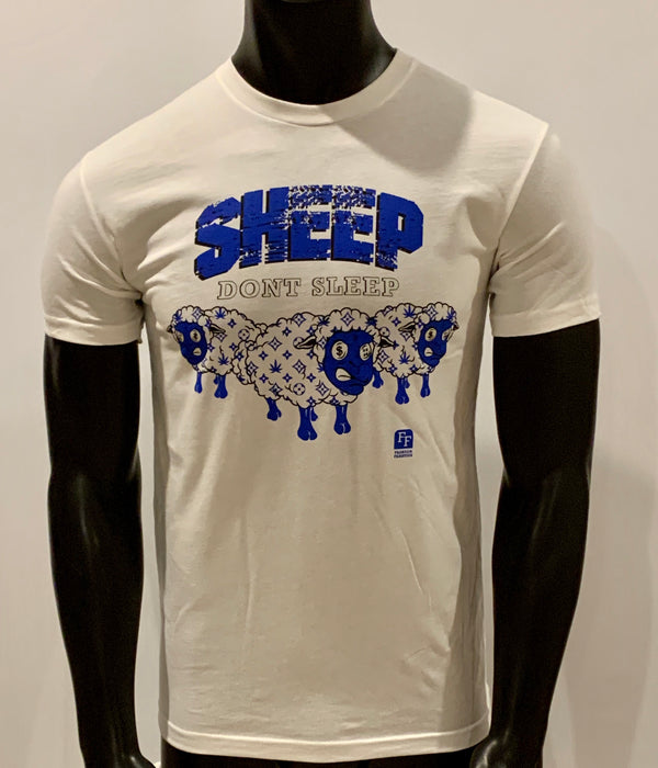 SHEEP DON'T SLEEP PREMIUM T-SHIRT