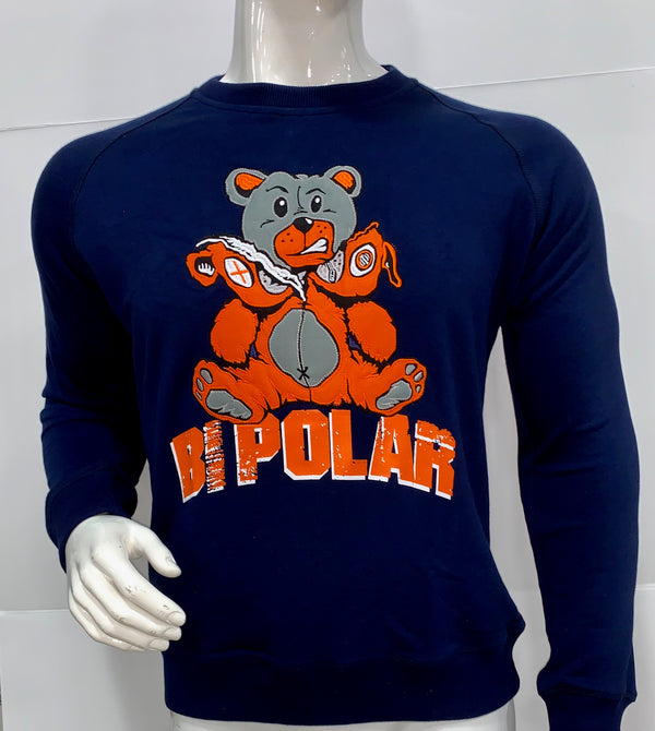 BIPOLAR CREWNECK SWEATER