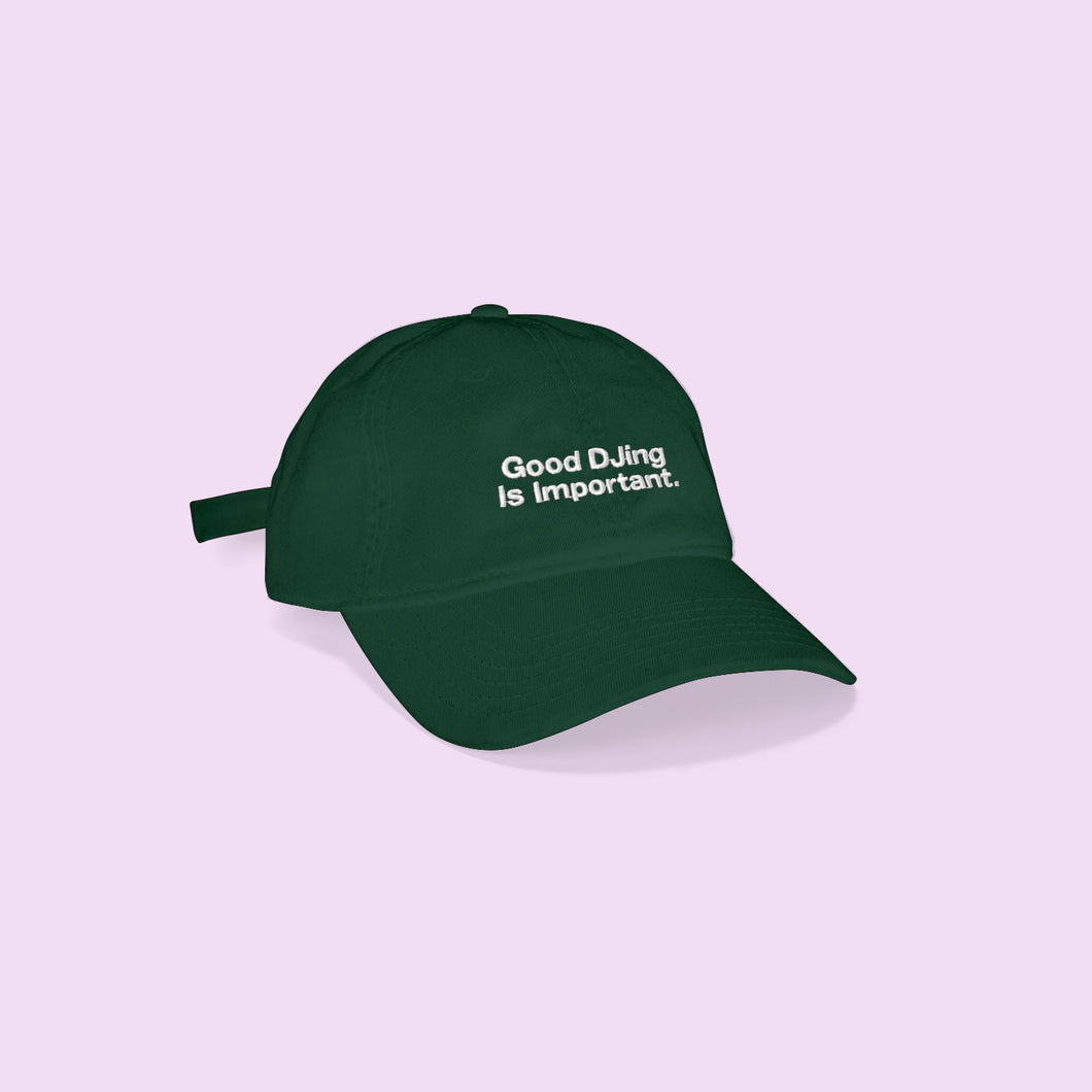 Good DJing Cap - Forest